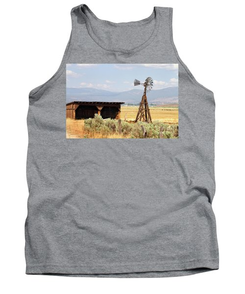 Water Pumping Windmill Tank Top