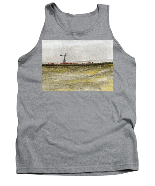 Water, Ranching, And Cattle Tank Top by R Kyllo