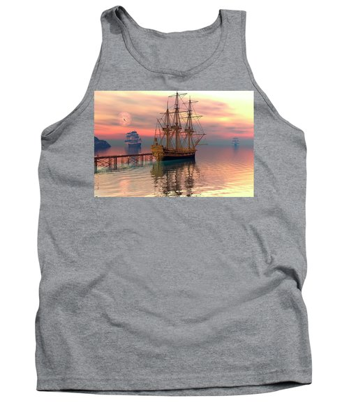 Water Traffic Tank Top by Claude McCoy
