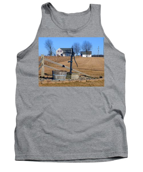 Water Well Tank Top by Tina M Wenger