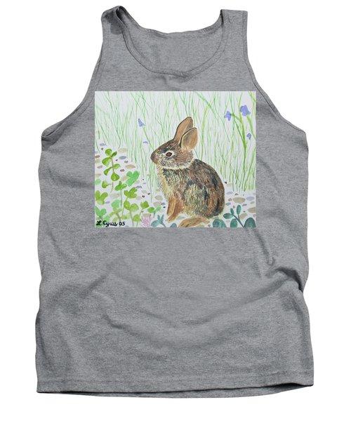 Watercolor - Baby Bunny Tank Top