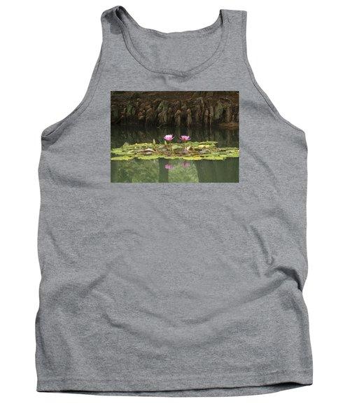 Waterlilies And Cyprus Knees Tank Top