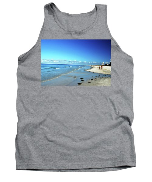 Tank Top featuring the photograph Water's Edge by Gary Wonning