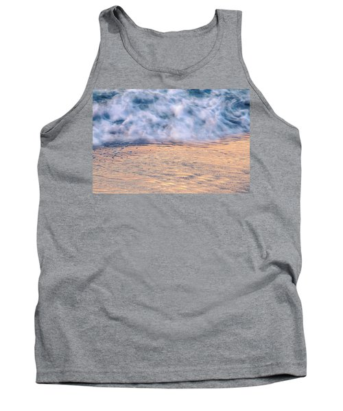 Tank Top featuring the photograph Wave Abstract 3, Hoi An, 2014 by Hitendra SINKAR