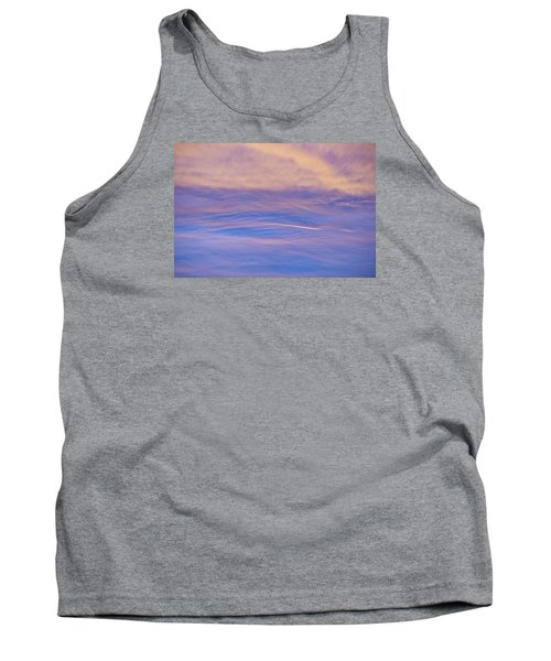 Tank Top featuring the photograph Waves Of Color by Wanda Krack