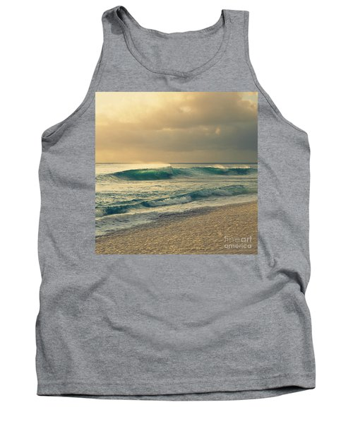 Waves Of Light - Hipster Photo Square Tank Top