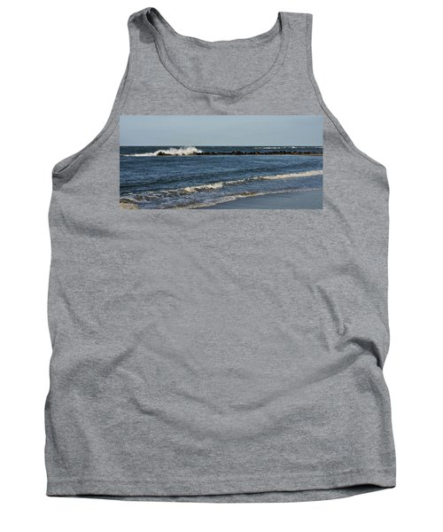 Tank Top featuring the photograph Waves by Sandy Keeton