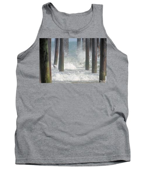 Waves Under The Pier Tank Top