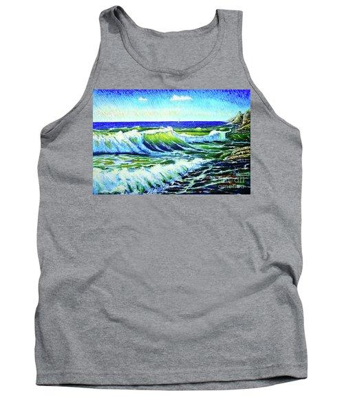 Waves Tank Top