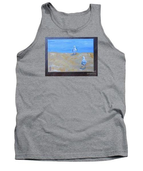 We First Met On The Beach Tank Top