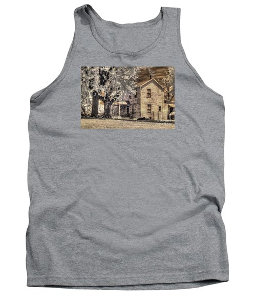 We Had Cows In The Yard Tank Top by William Fields