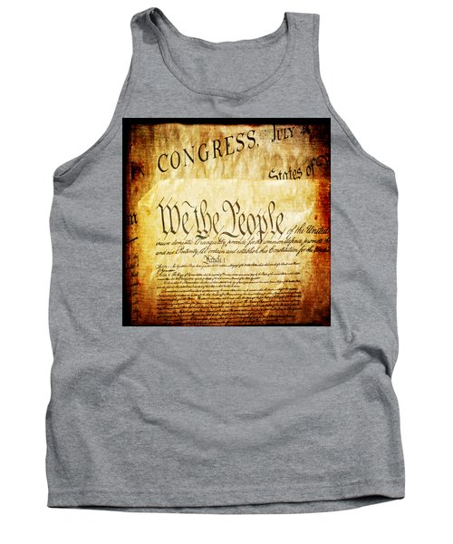 We The People Tank Top by Angelina Vick