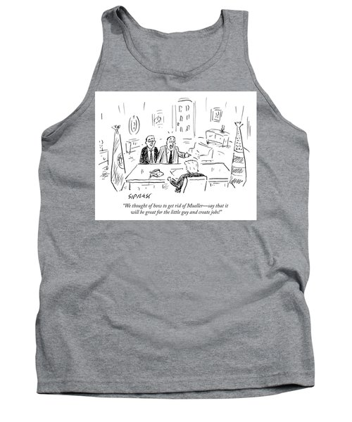 We Thought Of How To Get Rid Of Mueller Tank Top