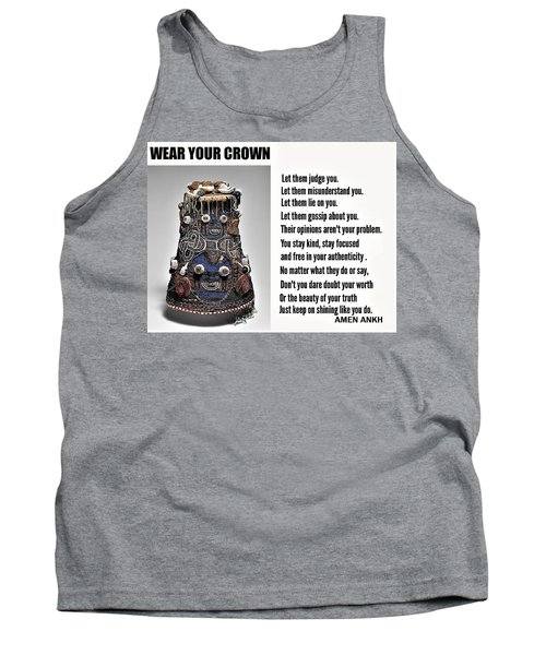Wear Your Crown Tank Top