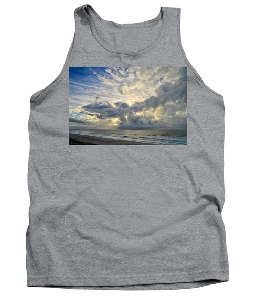 Weather Over Topsail Beach 2977 Tank Top