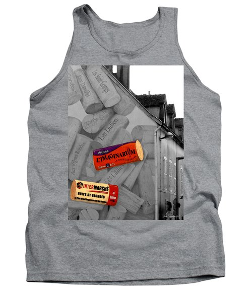 Tank Top featuring the photograph Welcome To Bordeaux by Joan  Minchak