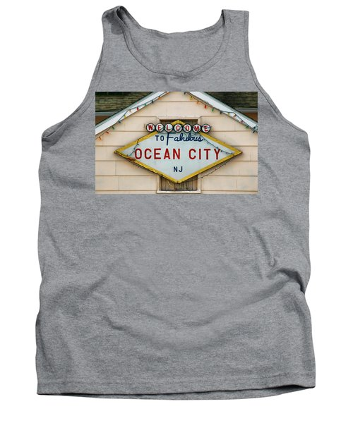 Welcome To Fabulous Ocean City N J Tank Top