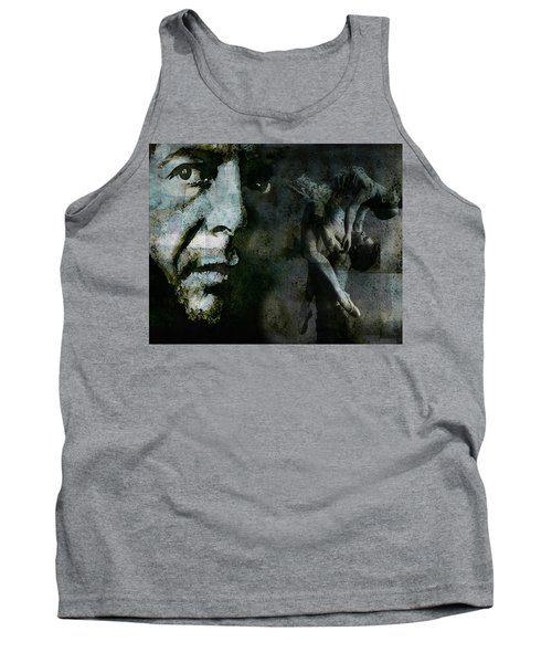 Tank Top featuring the painting Well , I've Heard There Is A Secret Chord by Paul Lovering