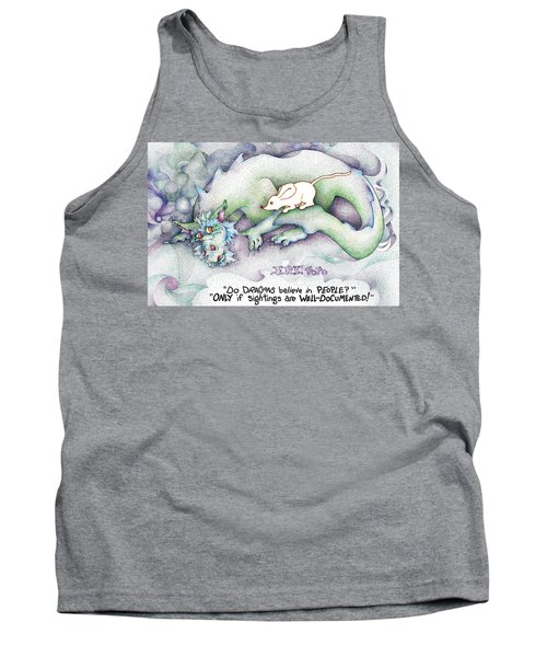 Well Documented Fpi Editorial Cartoon Tank Top