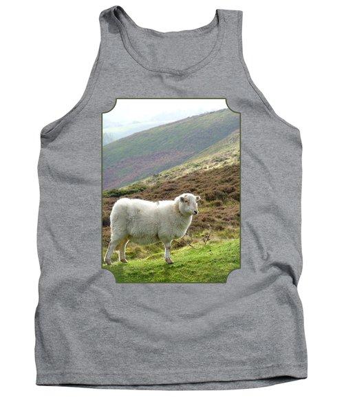 Welsh Mountain Sheep Tank Top