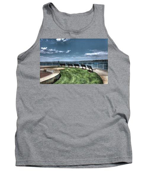 West Lake Okoboji Pier Tank Top
