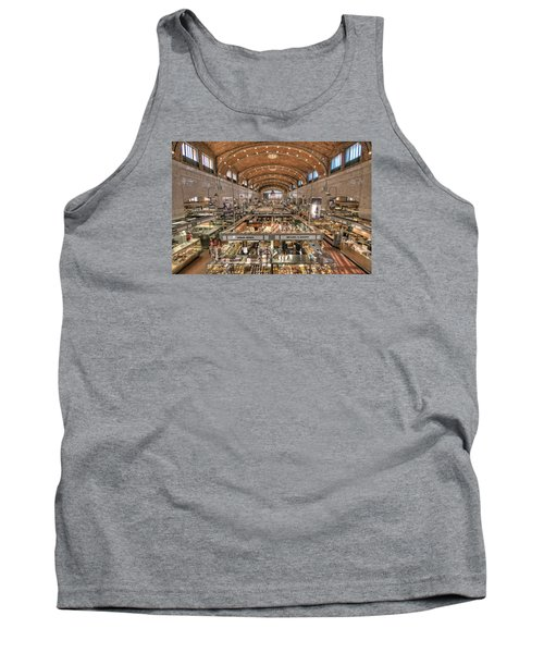 Tank Top featuring the photograph West Side Market by Brent Durken