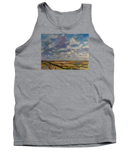 Skies Westward Tank Top by Helen Campbell
