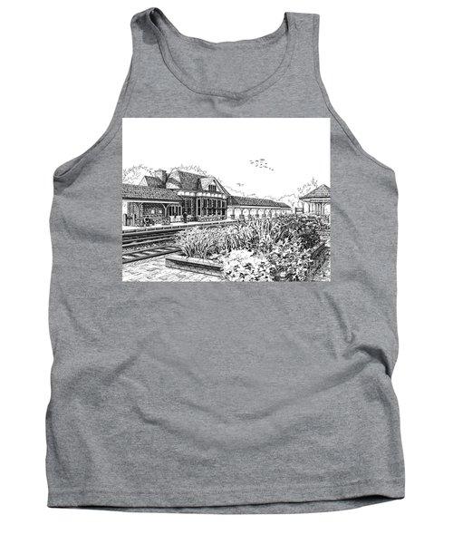 Western Springs Train Station Tank Top