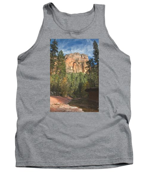 Tank Top featuring the photograph Westfork Trail by Tom Kelly