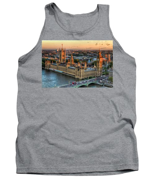 Westminster Palace Tank Top by Tim Stanley