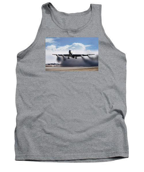 Wet Takeoff Kc-135 Tank Top by Peter Chilelli