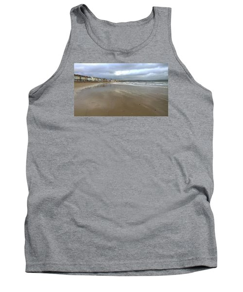 Tank Top featuring the photograph Weymouth Morning by Anne Kotan