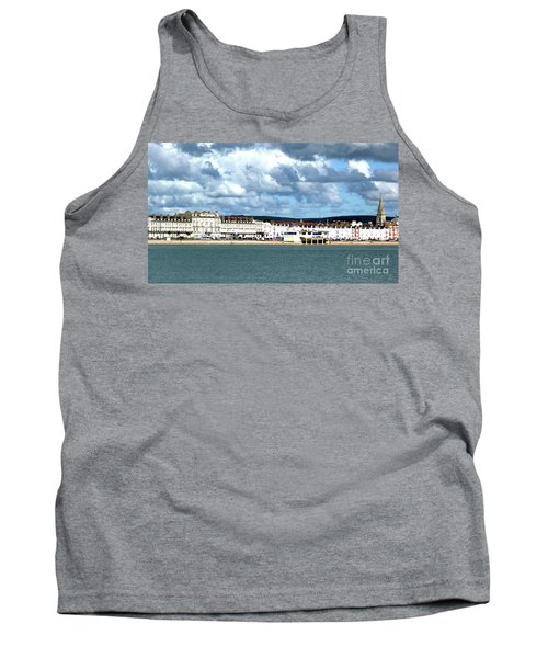 Weymouth Seafront Tank Top by Baggieoldboy