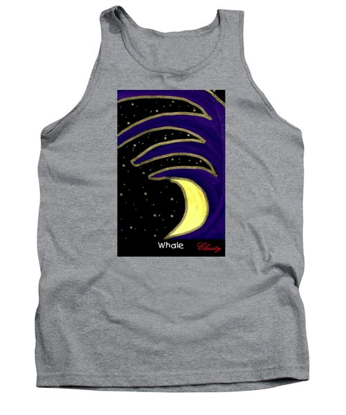 Tank Top featuring the painting Whale by Clarity Artists