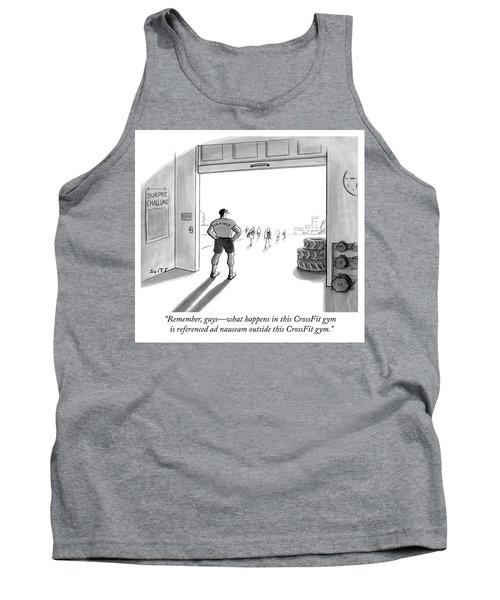 What Happens In This Crossfit Tank Top