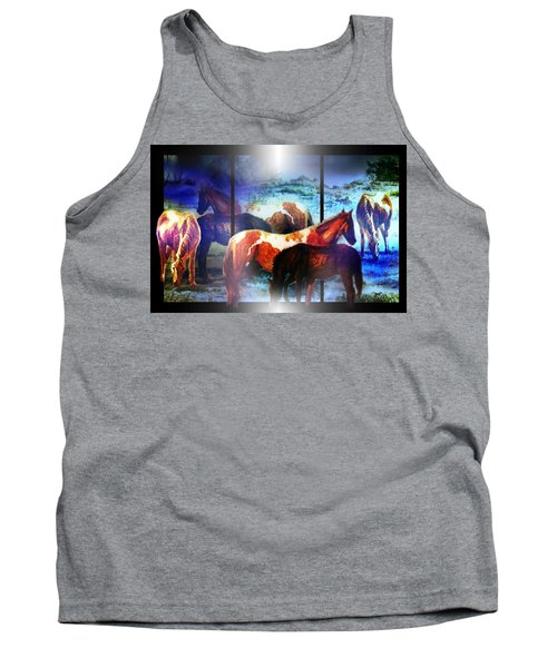 What  Horses Dream Tank Top