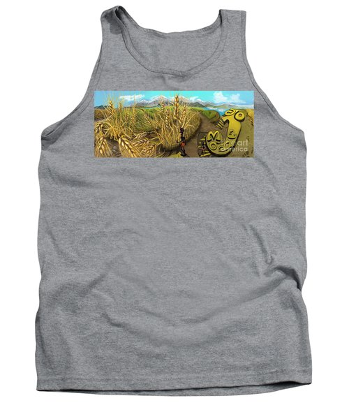 Wheat Field Day Dreaming Tank Top