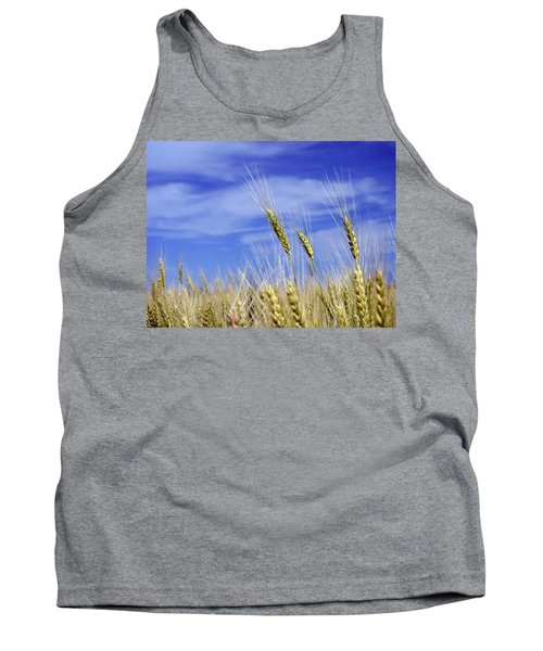 Wheat Trio Tank Top