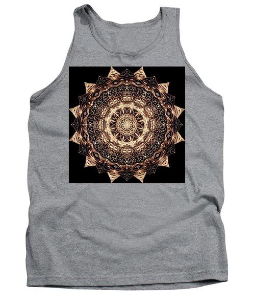 Wheel Of Life Mandala Tank Top