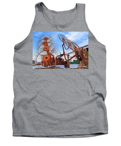 Wheel Rake Upside Down 2 Tank Top