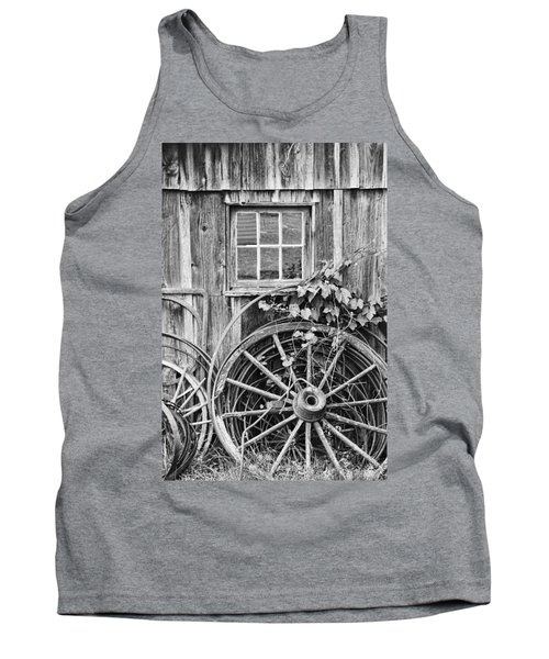 Wheels Wheels And More Wheels Tank Top
