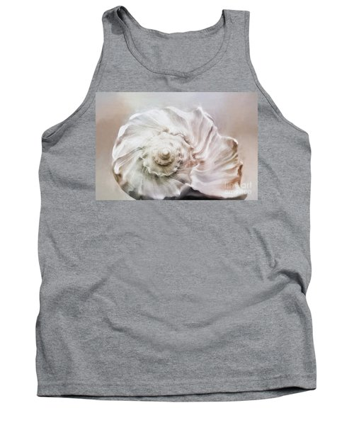 Tank Top featuring the photograph Whelk Shell by Benanne Stiens