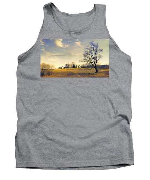 When I Come Back Tank Top by John Rivera