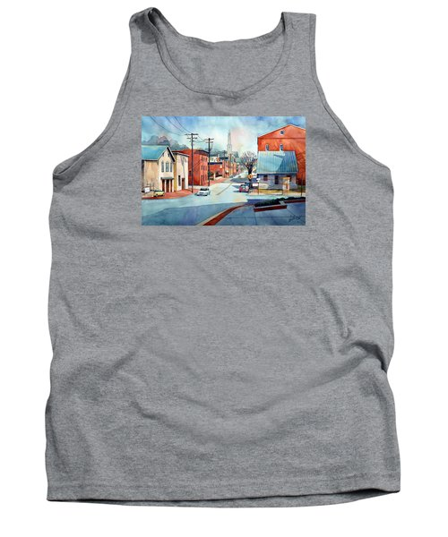 When The Fog Lifts Tank Top