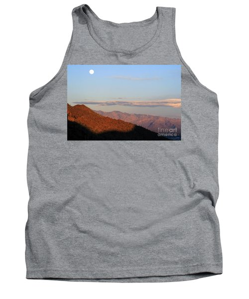 When The Mountains Turn Pink... Tank Top by Paula Guttilla