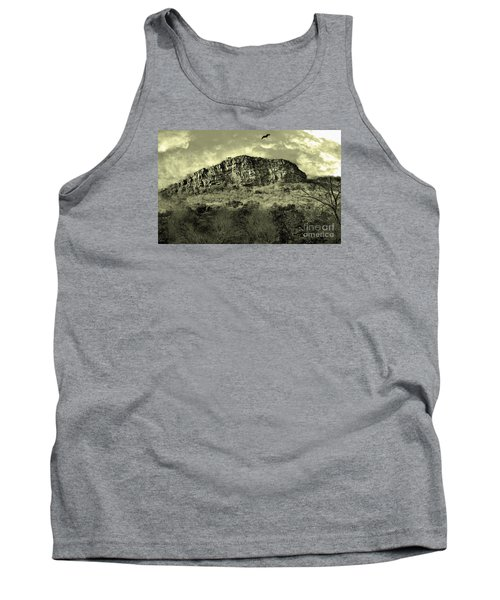 Where Eagle Dare-ii Tank Top by Manjot Singh Sachdeva