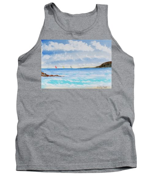 Where There's A Wind, There's A Race Tank Top