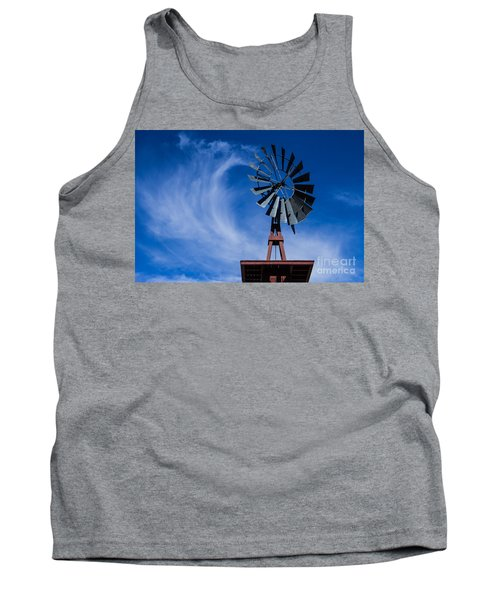 Whipping Up The Clouds Tank Top by Steven Parker