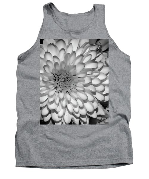 White Bloom Tank Top