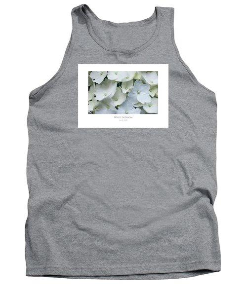 White Blossom Tank Top